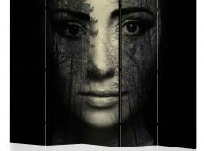 Paraván - Forest mask II [Room Dividers]
